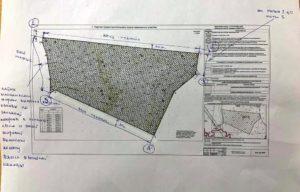 схема участка под строительство
