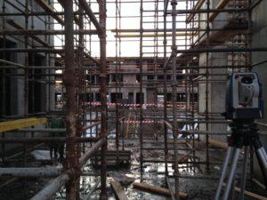 строительные конструкции осложняют съемку