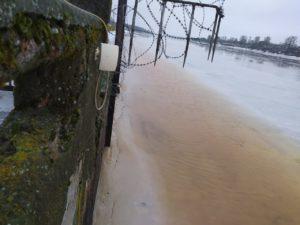 Ледозащита ГЭС с внешней тороны