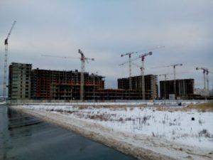 строительство нового ЖК