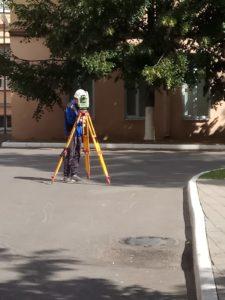 мониторинг осадок здания