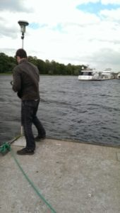 GNSS измерения водного объекта